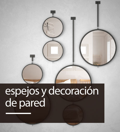 Espejos y decoracion de pared