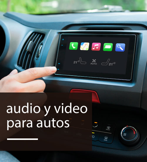 Audio y video para autos