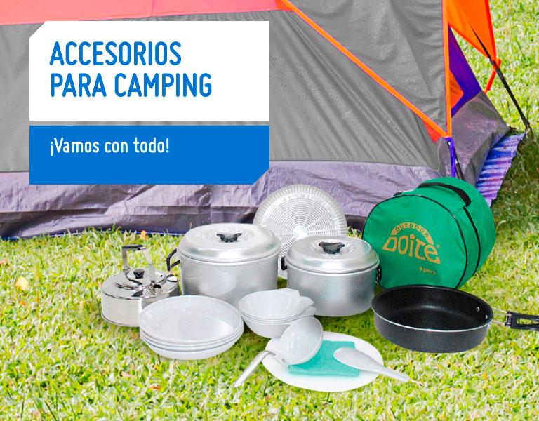 560dd9bec04 Accesorios para camping infaltables en tus viajes | Sodimac