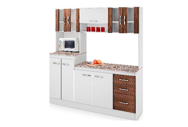 Alacenas de madera para cocina gabinete cadiz estilo for Mueble cocina sodimac