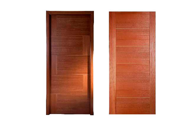 Puertas metalicas de exterior melamnico plomada with - Puertas de exteriores ...