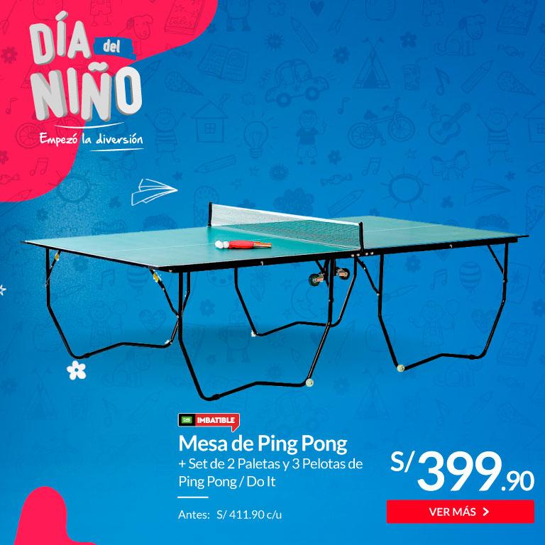 Combo mesa de ping pong