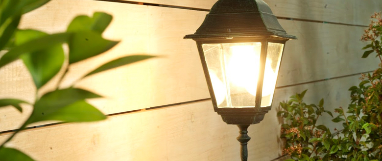Cómo iluminar exteriores