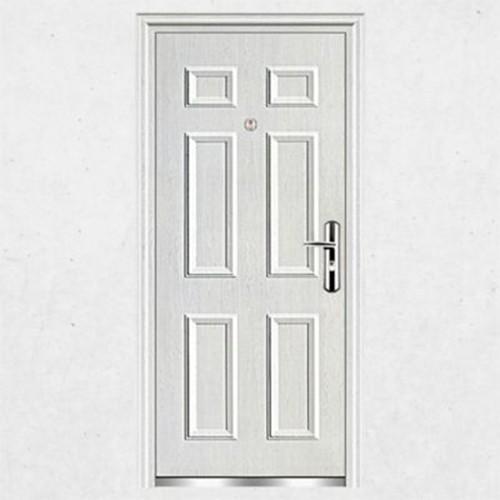 Puerta metalica exterior puerta metalica de alta for Puertas correderas sodimac