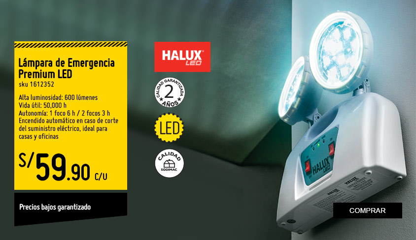 Lampara de Emergencia Premium LED