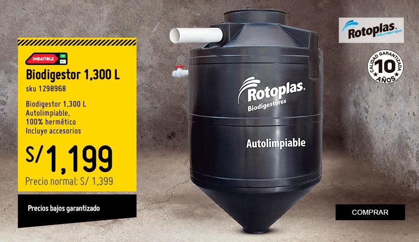Biodigestor 1300 L
