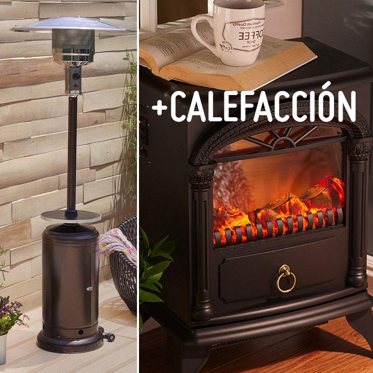 Calefaccion de gas excellent calefactor volcan v with for Gas natural en casa