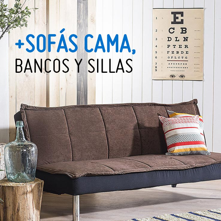 Sofás cama, Bancos y Sillas | Sodimac