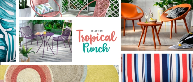 Fondo Colección Tropical Punch