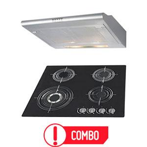 Combo-Cocina-empotrable-+-Campana-extractora-60cm