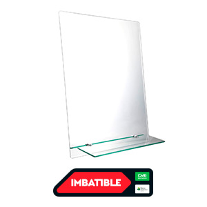 Espejo con repisa 45x60cm