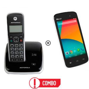 Combo Teléfono + Celular