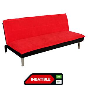 Sofá cama Versalles rojo