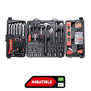 Set de herramientas manuales 250 piezas